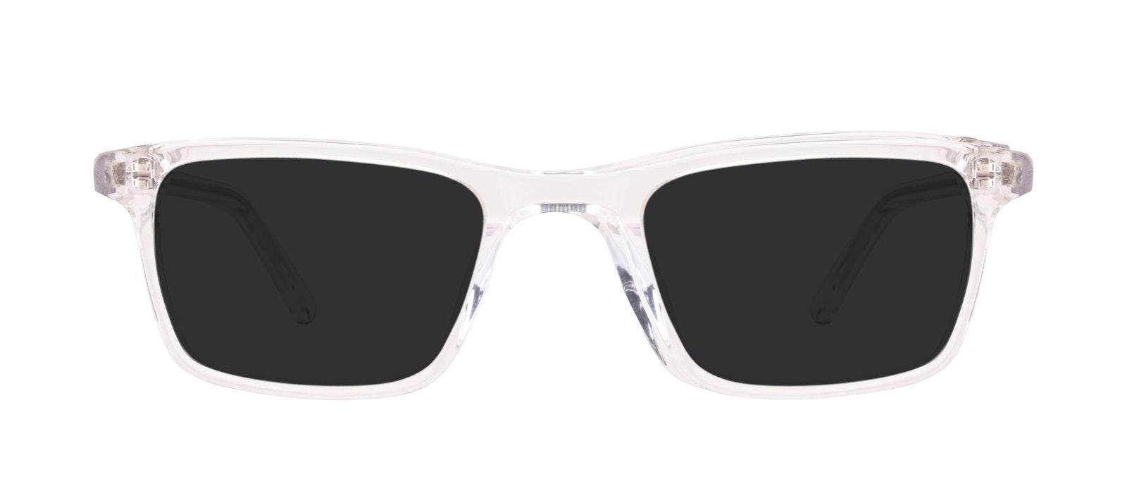 Affordable Fashion Glasses Rectangle Sunglasses Men Henri SML Clear Front