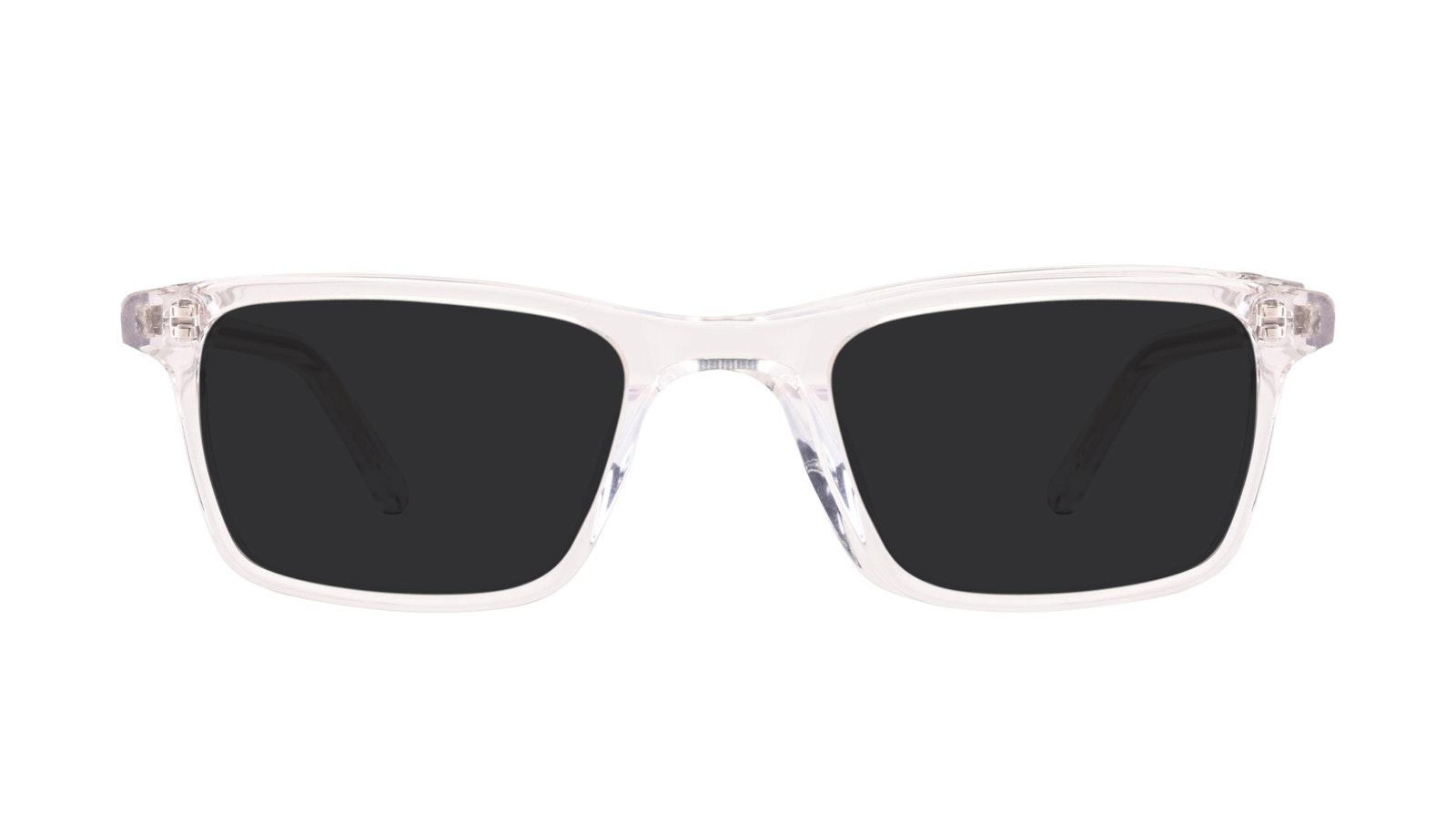 Affordable Fashion Glasses Rectangle Sunglasses Men Henri SML Clear