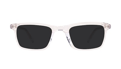 Affordable Fashion Glasses Rectangle Sunglasses Men Henri SML Clear Front