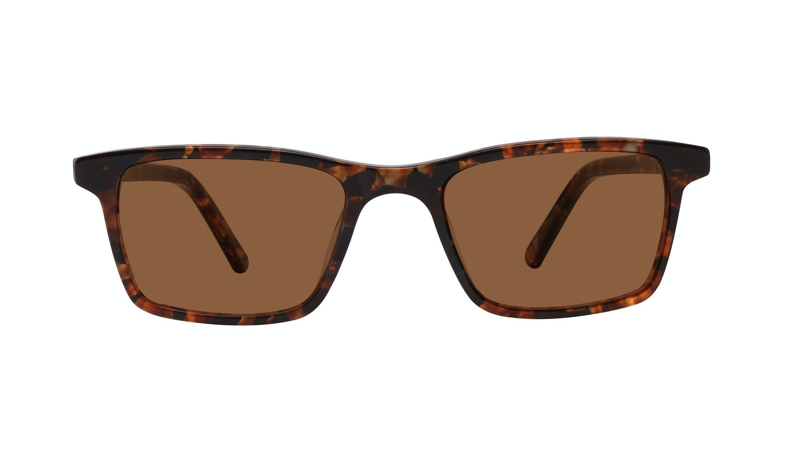 Affordable Fashion Glasses Rectangle Sunglasses Men Henri SML Mohagany