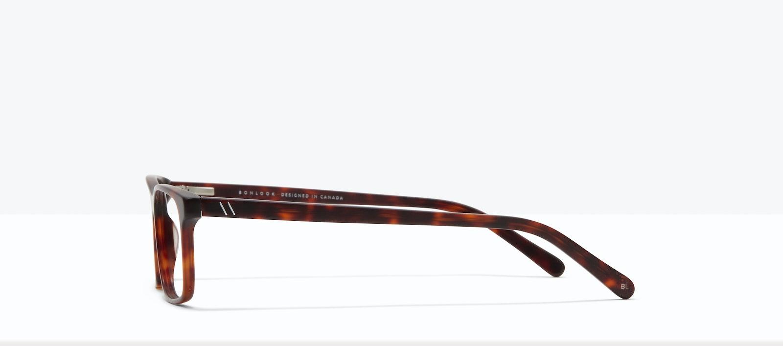 Affordable Fashion Glasses Rectangle Eyeglasses Men Henri M Matte Tort Side