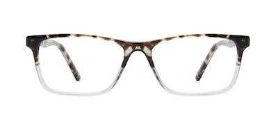 Affordable Fashion Glasses Rectangle Eyeglasses Men Henri Mocha Grey Front