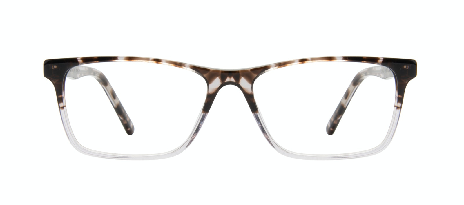 Affordable Fashion Glasses Rectangle Eyeglasses Men Henri Mocha Grey Front