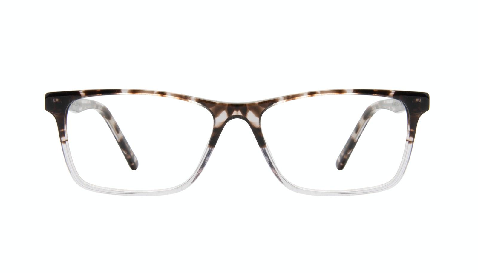 Affordable Fashion Glasses Rectangle Eyeglasses Men Henri Mocha Grey