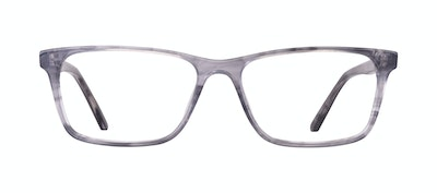 Affordable Fashion Glasses Rectangle Eyeglasses Men Henri Smokey Grey Front