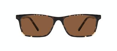 Affordable Fashion Glasses Rectangle Sunglasses Men Henri Tortoise Front