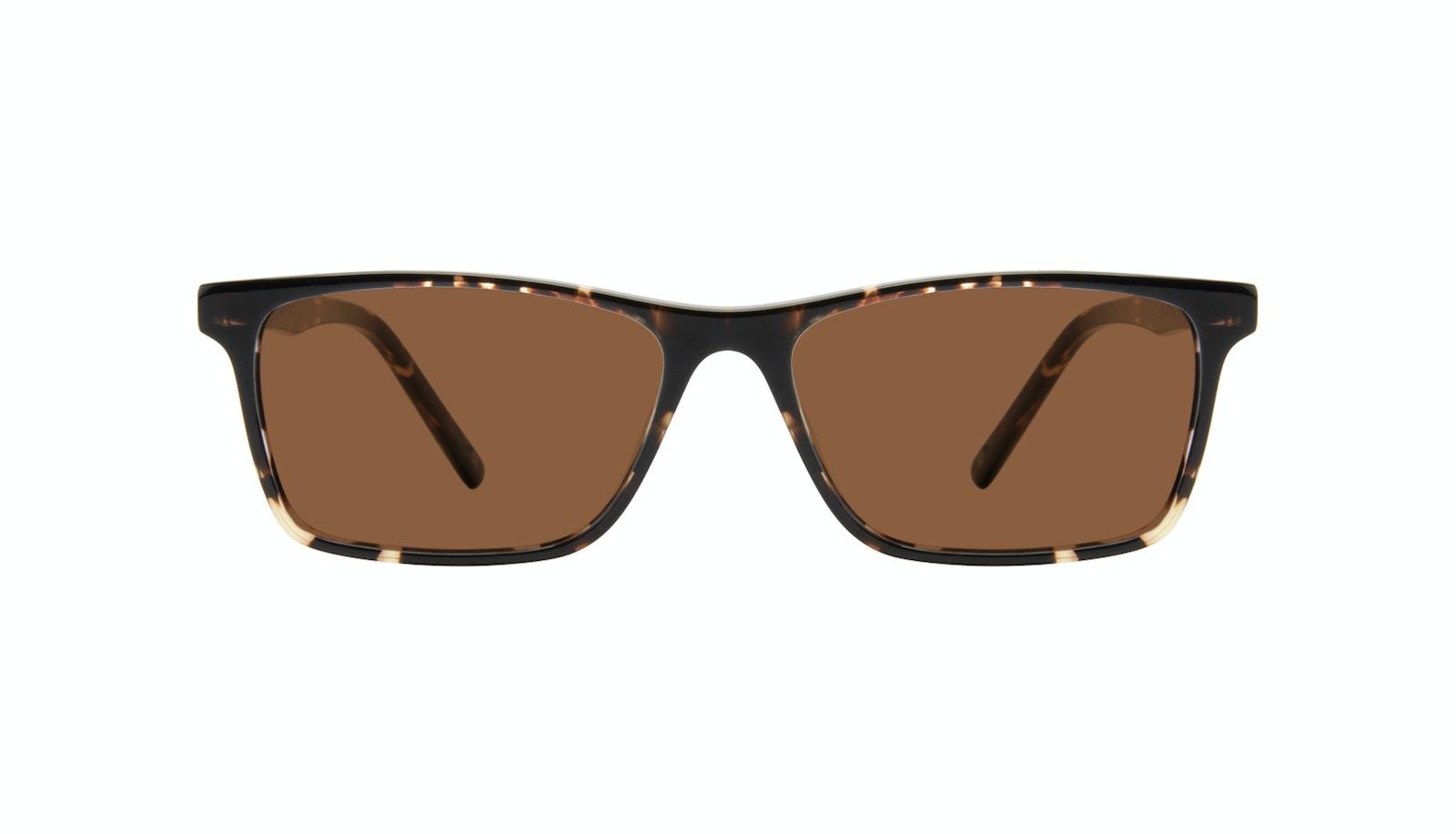 Affordable Fashion Glasses Rectangle Sunglasses Men Henri Tortoise