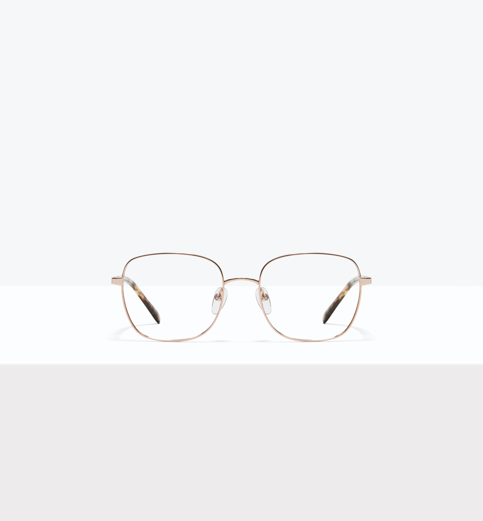 Affordable Fashion Glasses Square Eyeglasses Women Henriette M Rose Gold