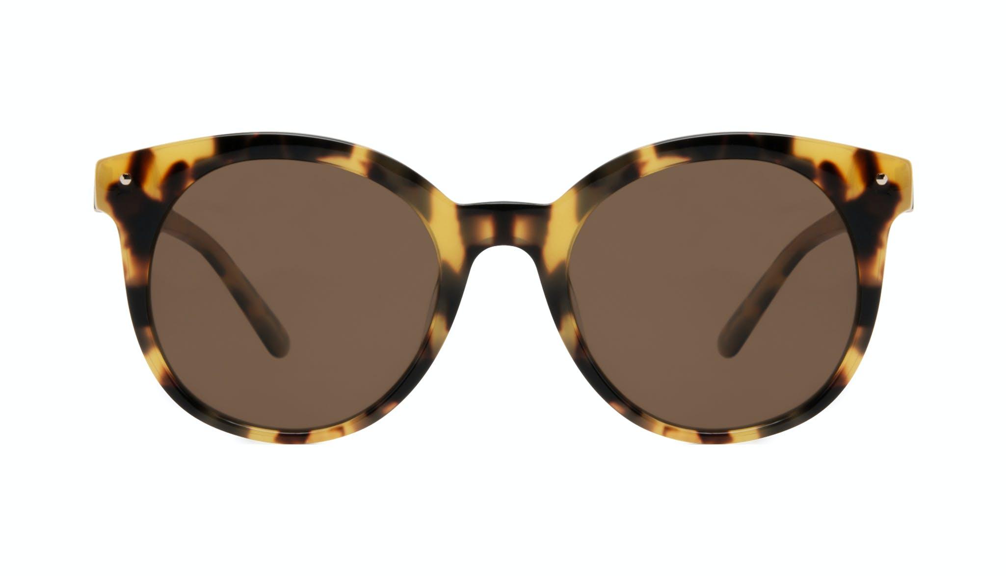 Affordable Fashion Glasses Round Sunglasses Women Hip tortoise