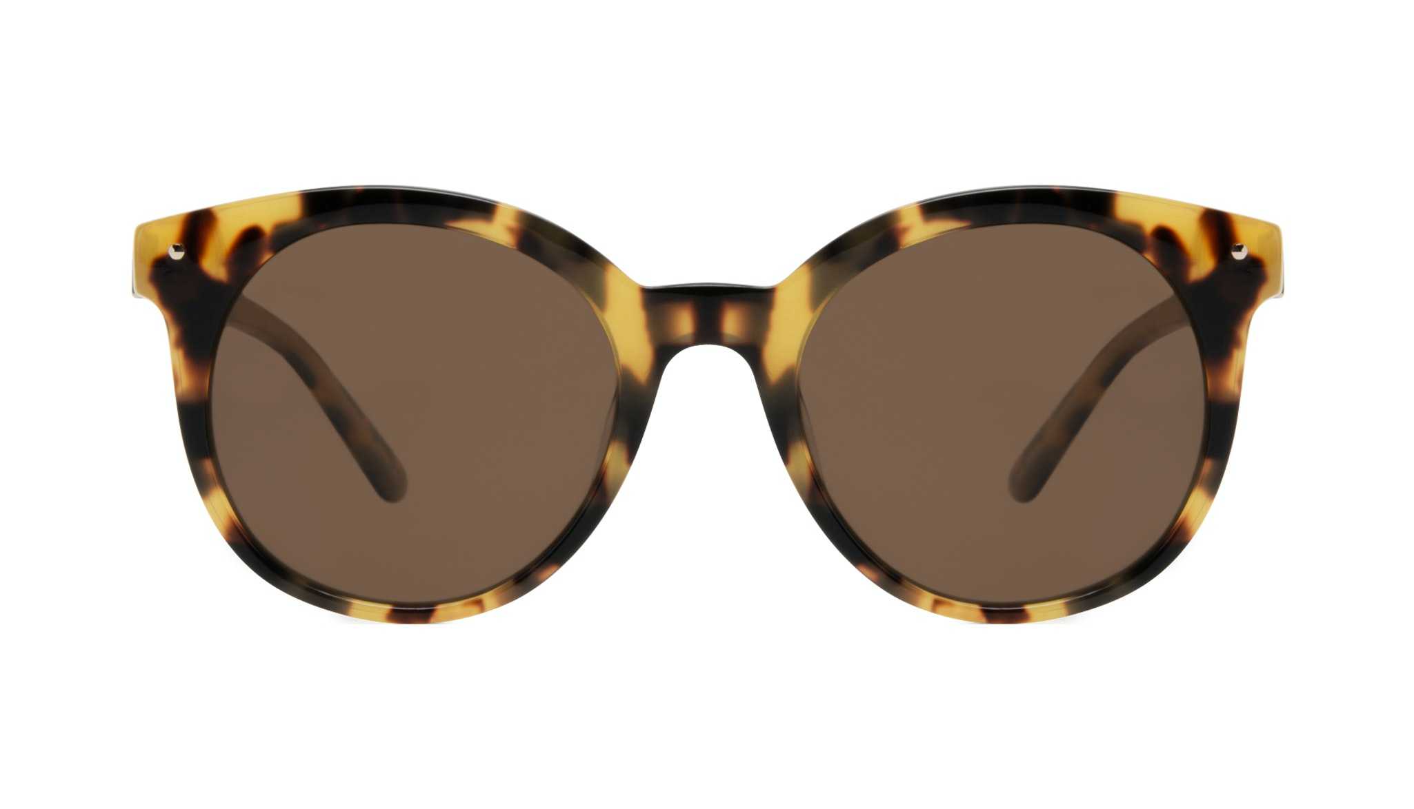 Affordable Fashion Glasses Round Sunglasses Women Hip Tortoise