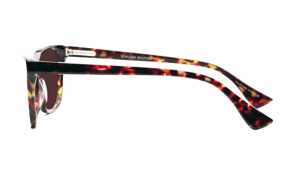 Affordable Fashion Glasses Cat Eye Sunglasses Women Honeybadger Chocolate Tortoise Profil