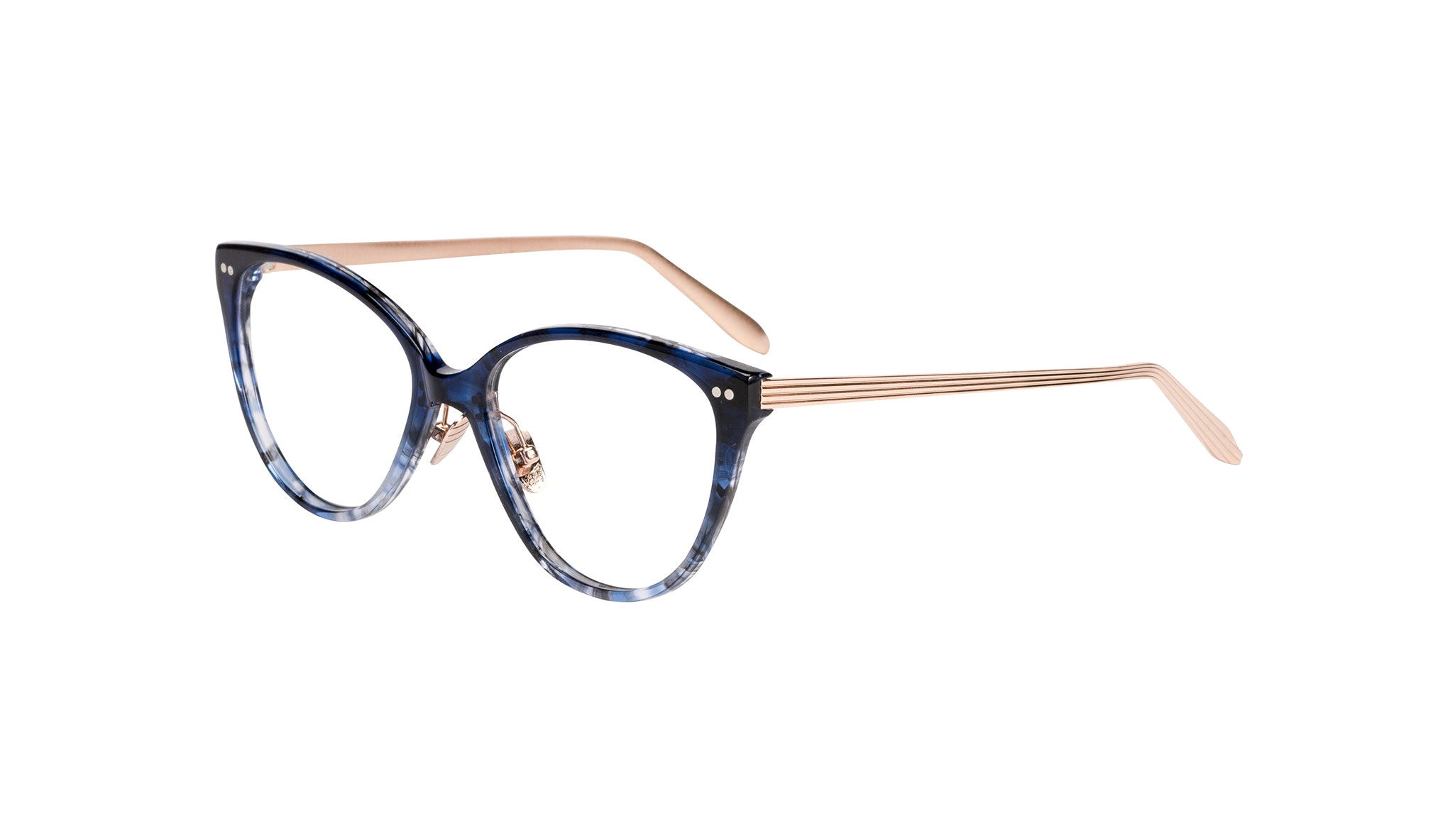 Affordable Fashion Glasses Cat Eye Eyeglasses Women Hope Midnight Tilt