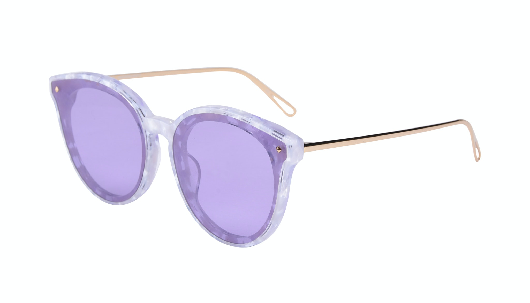 Affordable Fashion Glasses Cat Eye Sunglasses Women Icone Moonlight Tilt