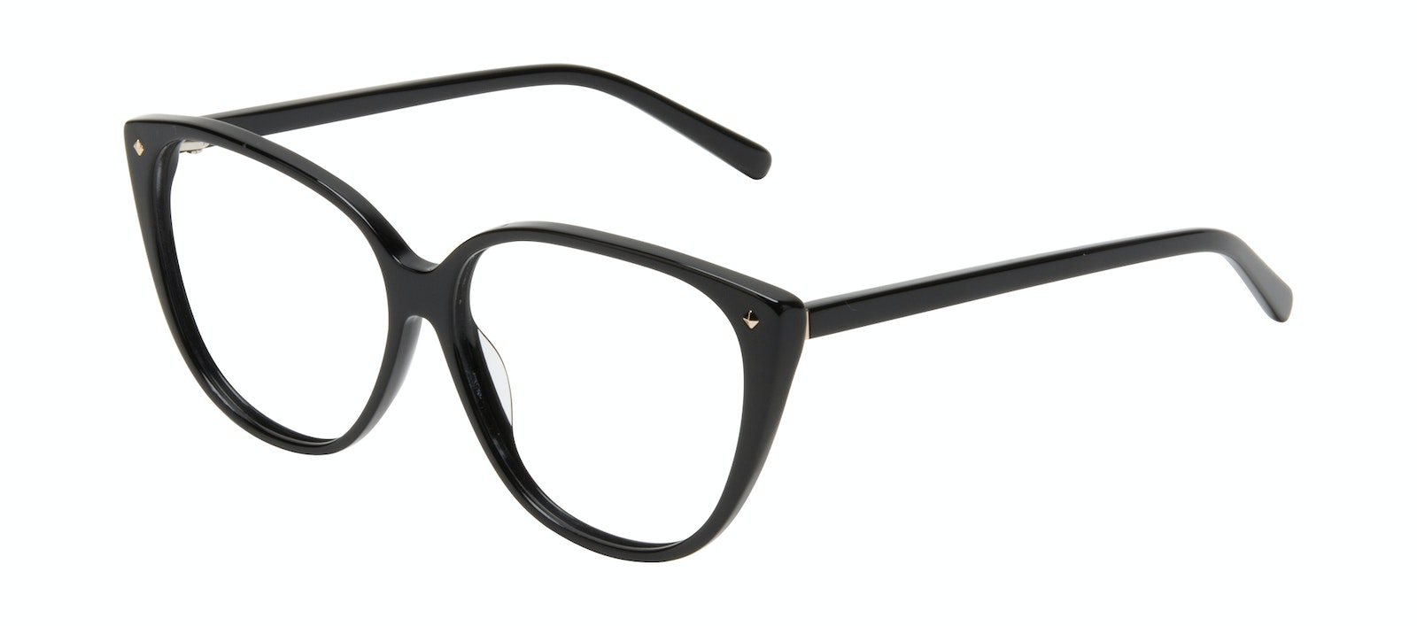 Affordable Fashion Glasses Cat Eye Eyeglasses Women Icone Onyx Tilt