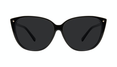 Affordable Fashion Glasses Cat Eye Sunglasses Women Icone Onyx Front
