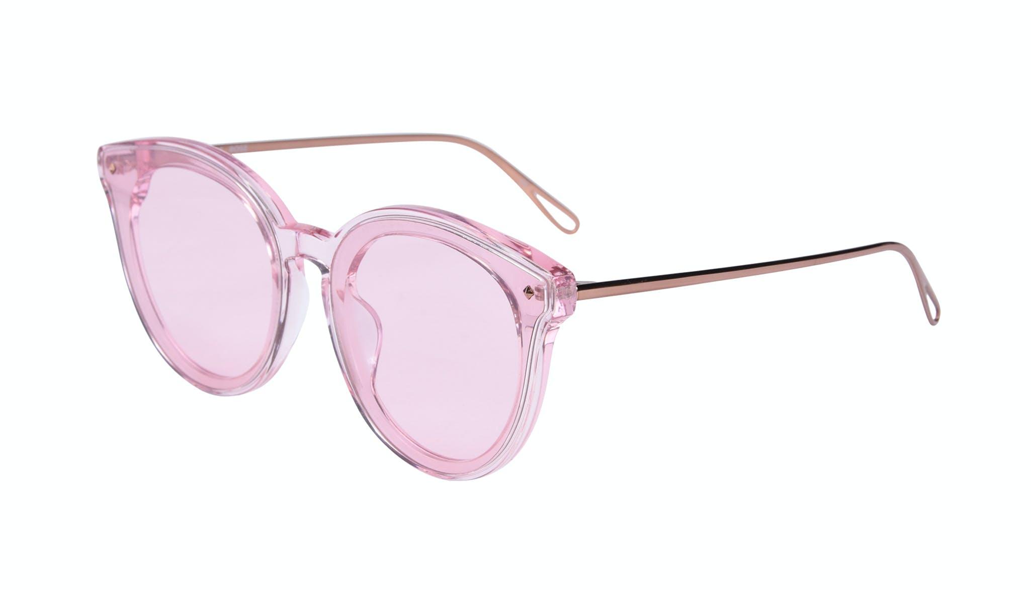 Affordable Fashion Glasses Cat Eye Sunglasses Women Icone Rose Tilt