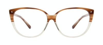 Affordable Fashion Glasses Cat Eye Eyeglasses Women Icone M Tan Front