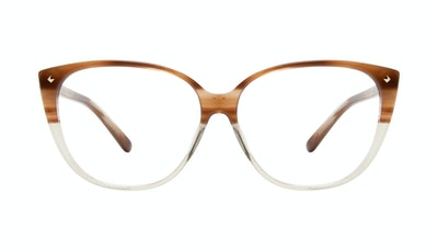 Affordable Fashion Glasses Cat Eye Eyeglasses Women Icone Tan Front