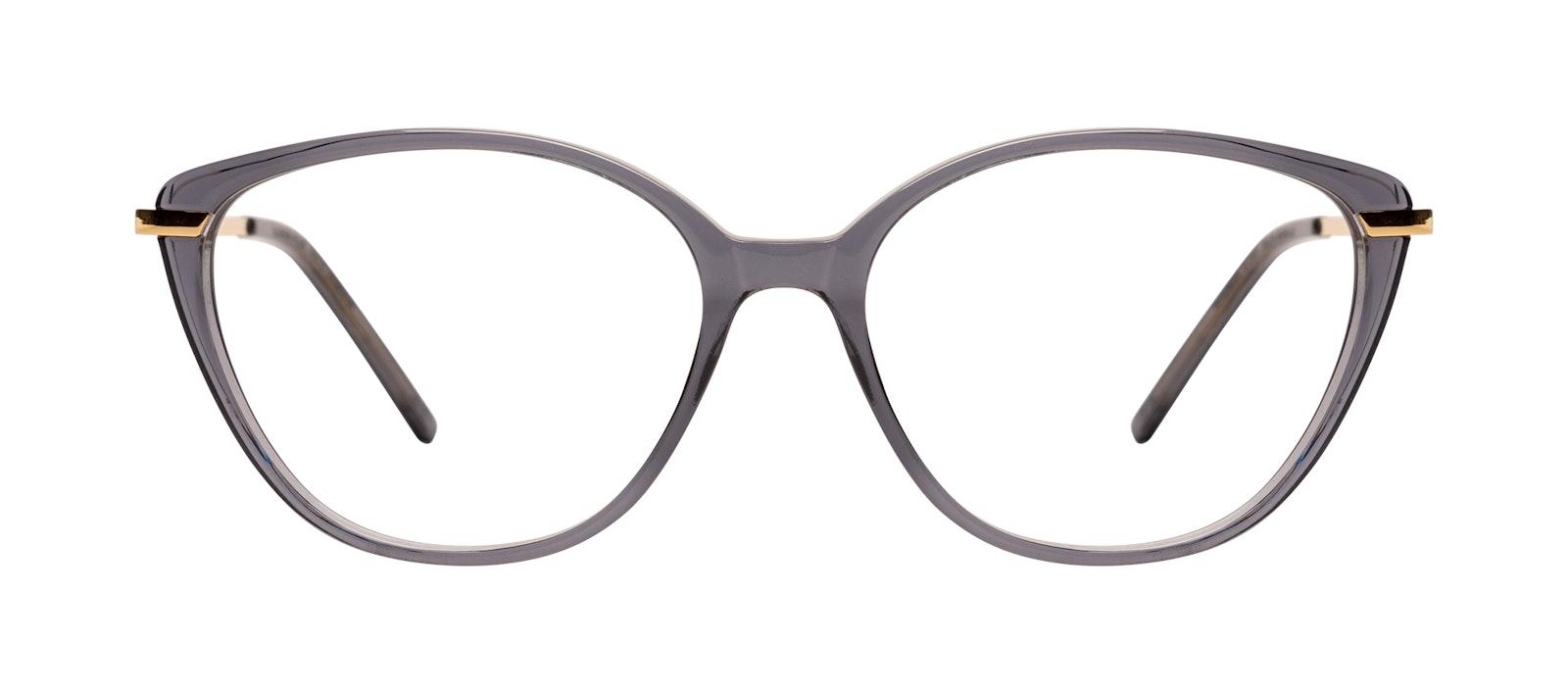 Affordable Fashion Glasses Cat Eye Eyeglasses Women Illusion Plus Gold Shadow Front