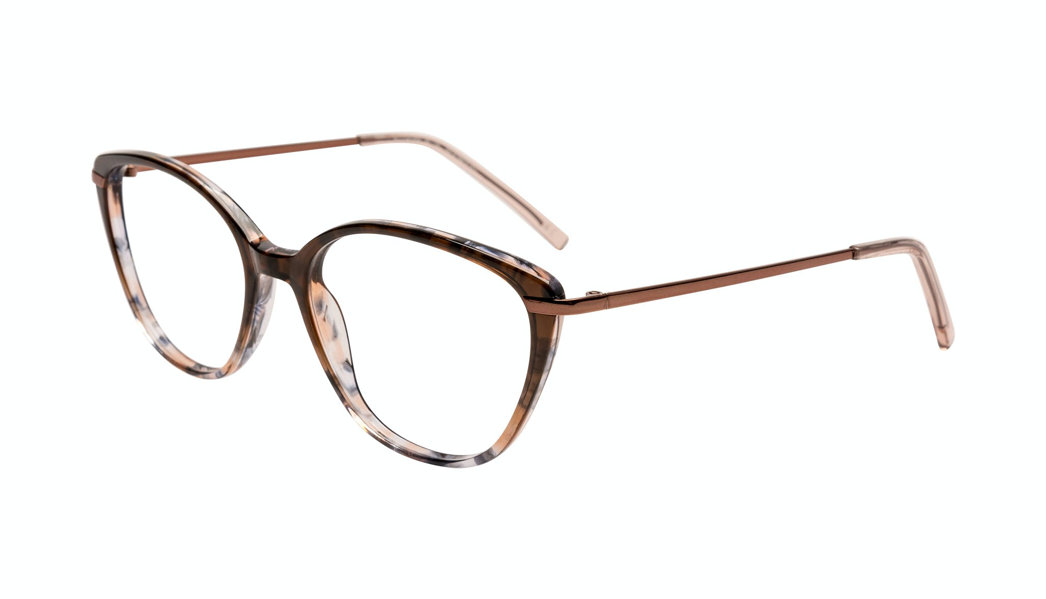 Affordable Fashion Glasses Cat Eye Eyeglasses Women Illusion Plus Moondust Tilt