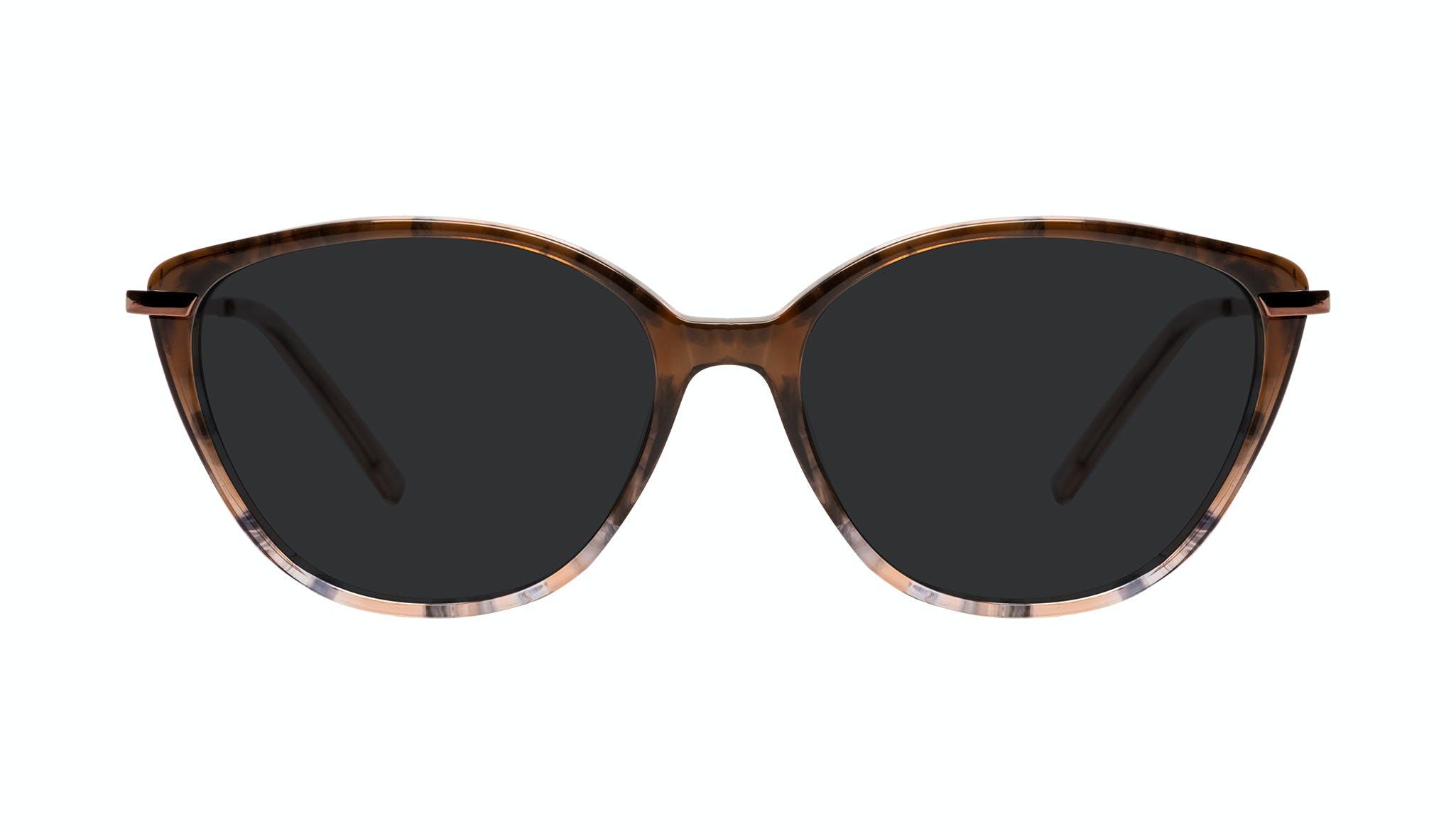 Affordable Fashion Glasses Cat Eye Sunglasses Women Illusion Plus Moondust