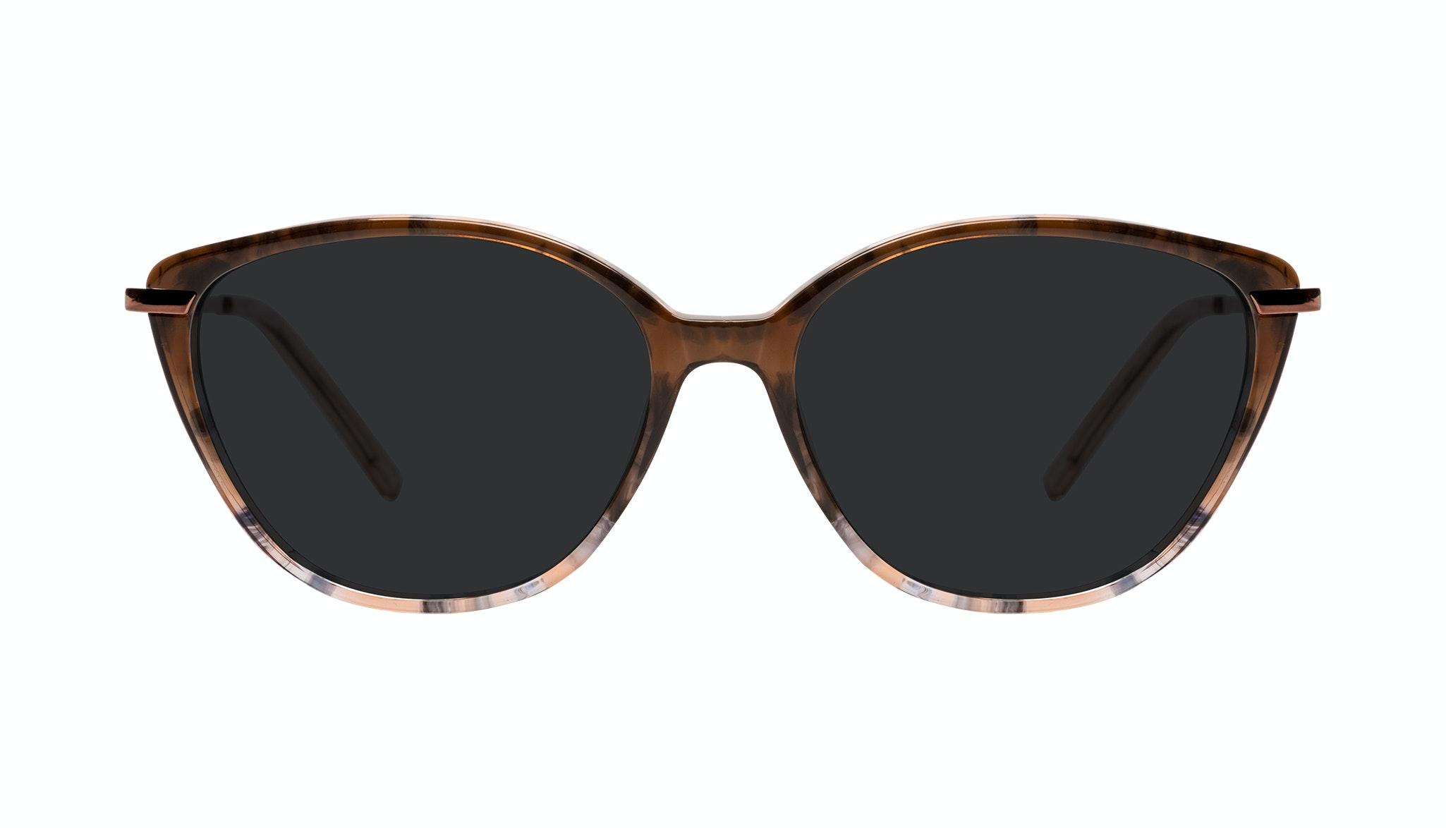 Affordable Fashion Glasses Cat Eye Sunglasses Women Illusion Plus Moondust Front