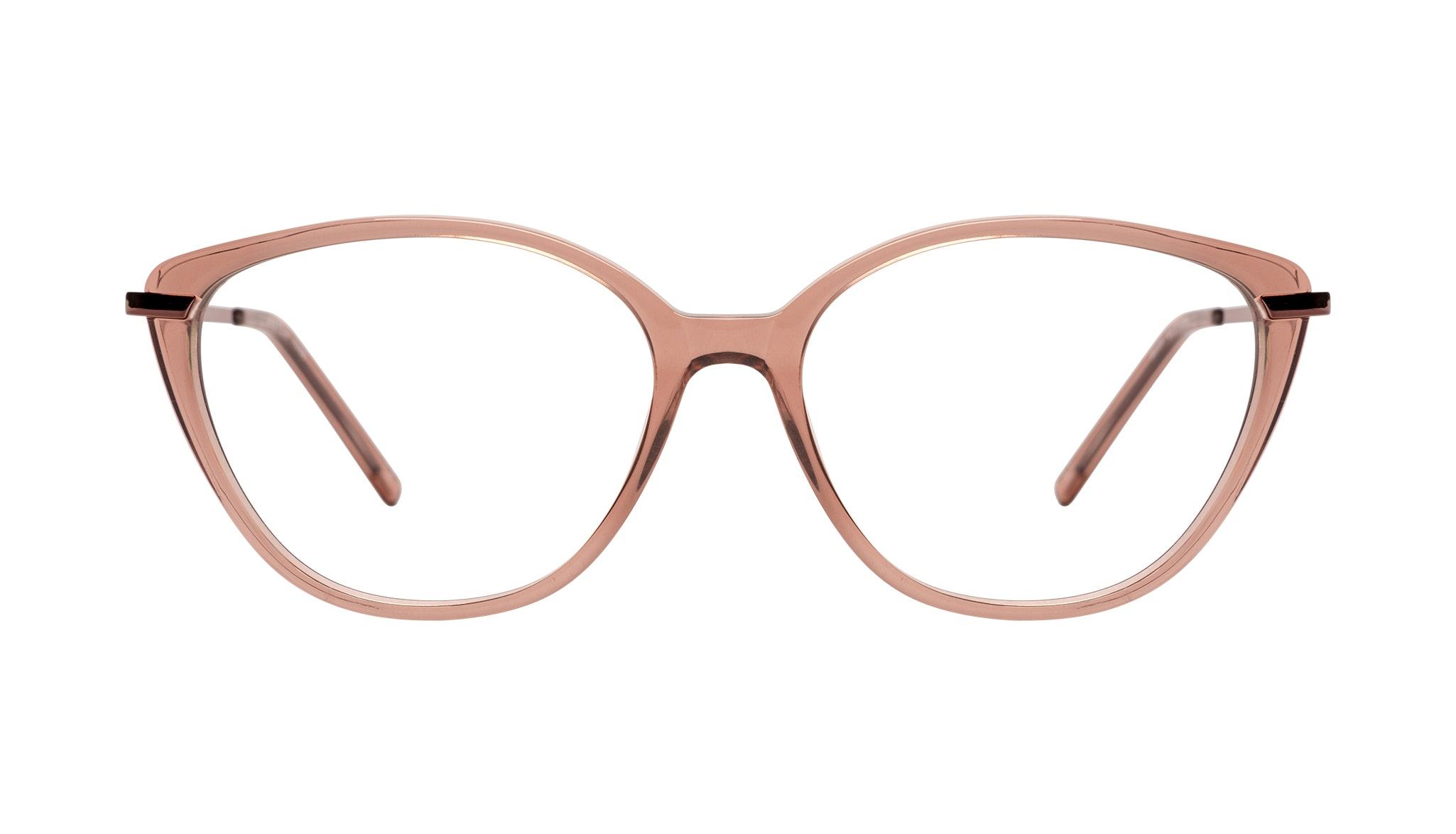Affordable Fashion Glasses Cat Eye Eyeglasses Women Illusion Plus Rose
