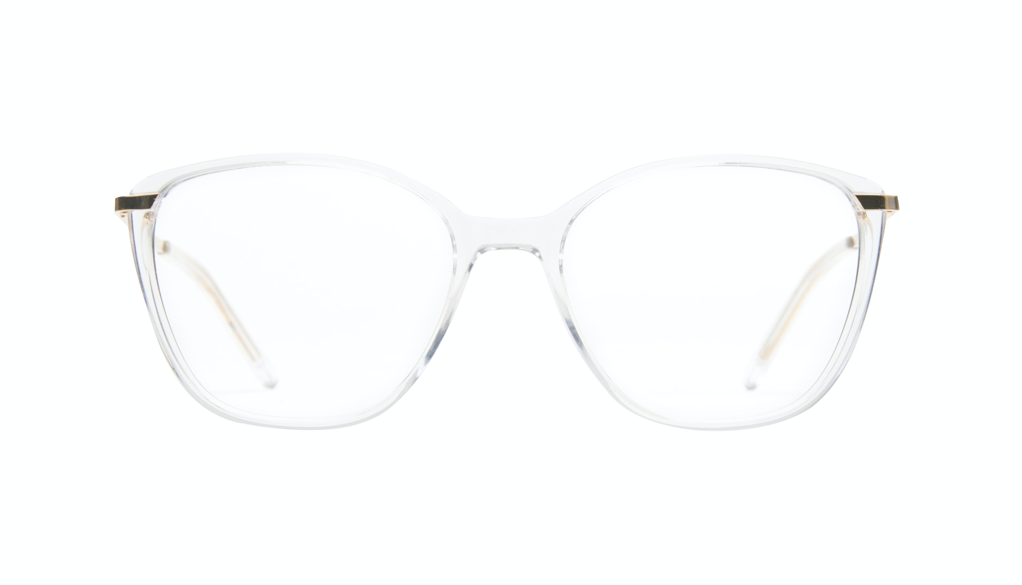 Affordable Fashion Glasses Cat Eye Round Eyeglasses Women Illusion Gold Diamond