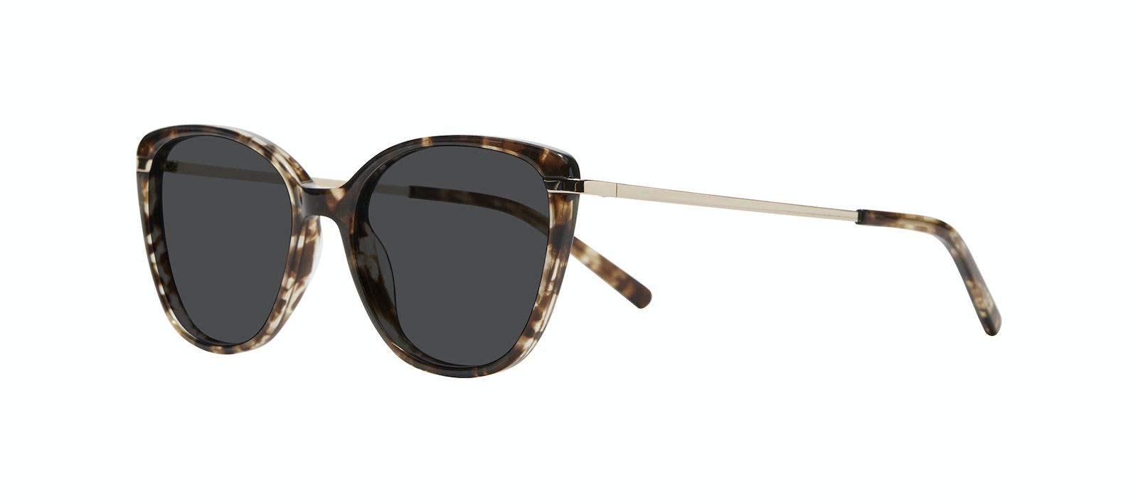 Affordable Fashion Glasses Rectangle Square Sunglasses Women Illusion M Leopard Tilt