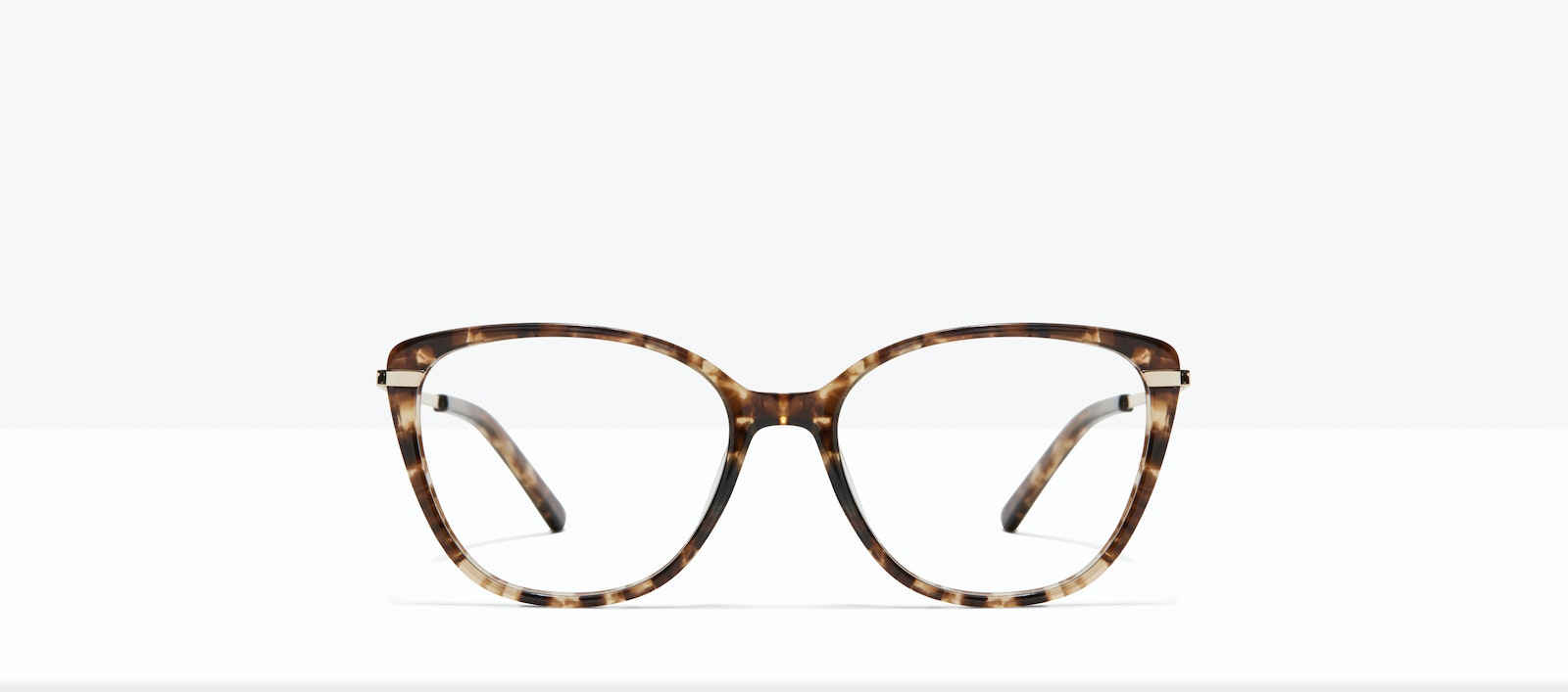 Affordable Fashion Glasses Rectangle Square Eyeglasses Women Illusion L Leopard Front
