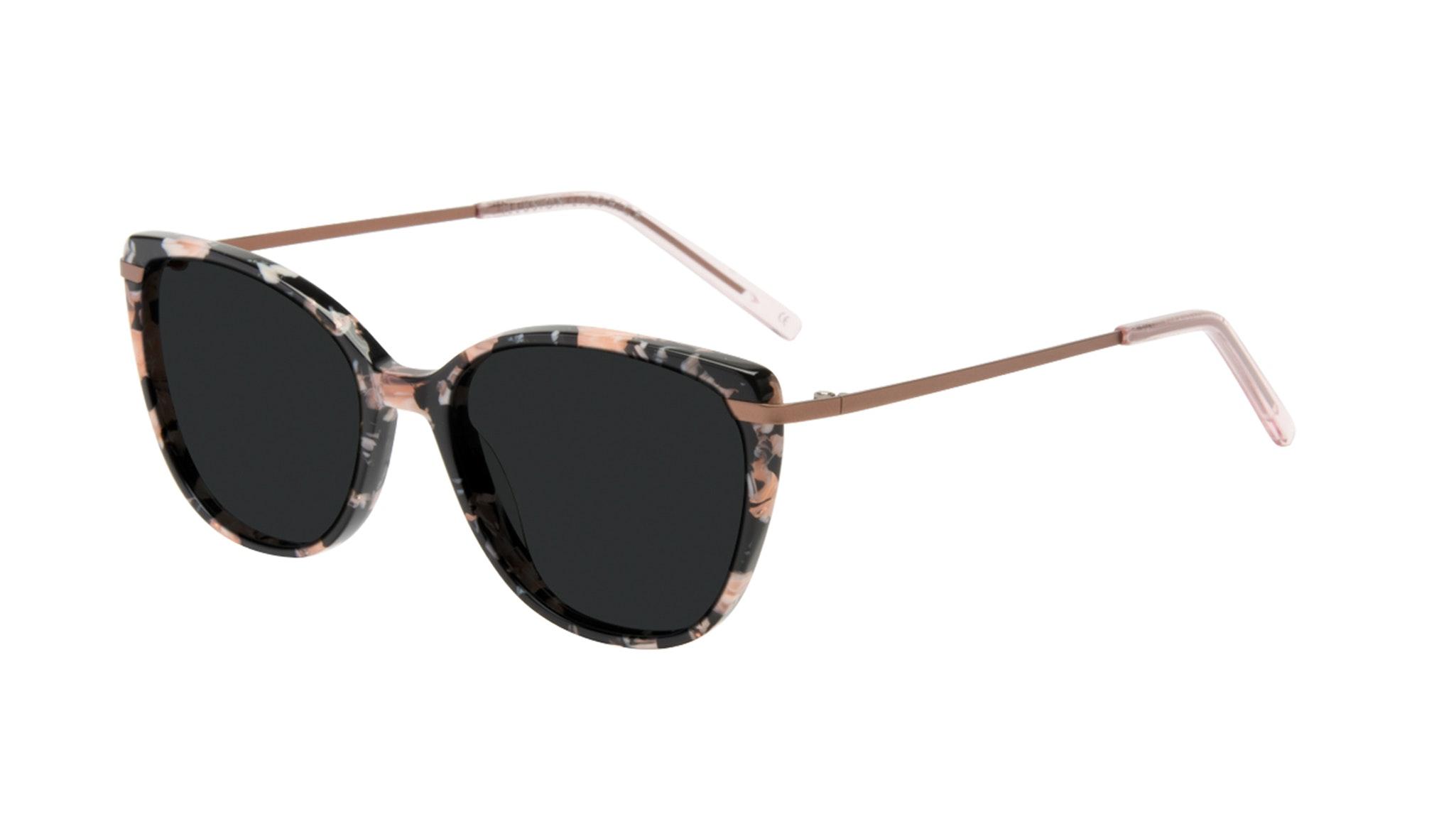 Affordable Fashion Glasses Cat Eye Rectangle Square Sunglasses Women Illusion Licorice Tilt
