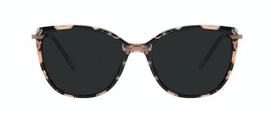 Affordable Fashion Glasses Rectangle Square Sunglasses Women Illusion Licorice Front