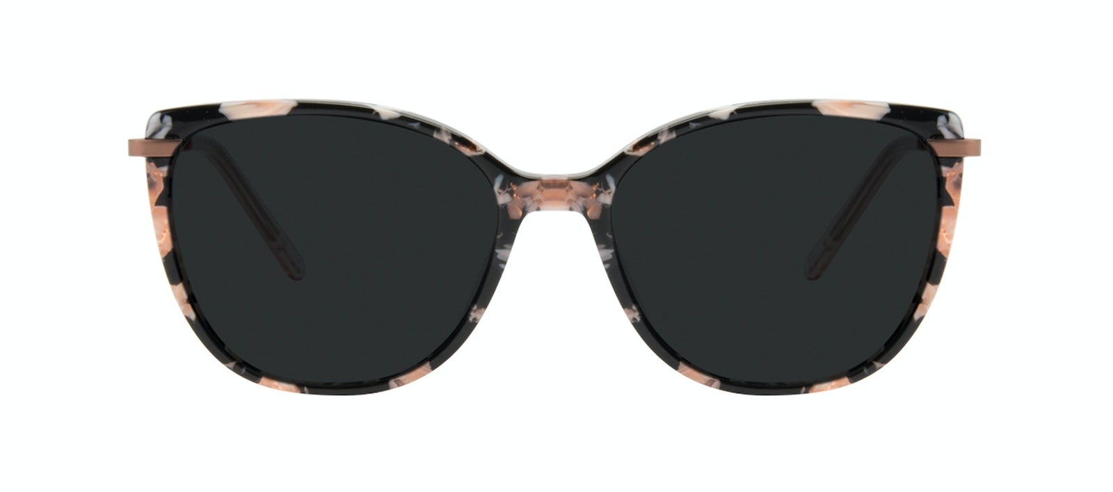 Affordable Fashion Glasses Rectangle Square Sunglasses Women Illusion Licorice Front