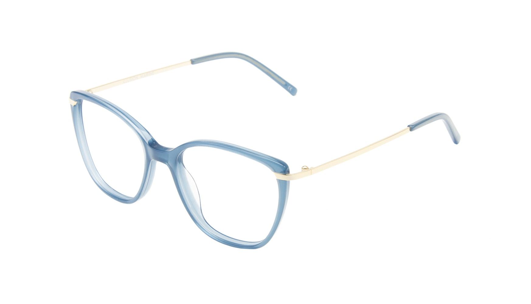 Affordable Fashion Glasses Cat Eye Rectangle Eyeglasses Women Illusion Marine Tilt
