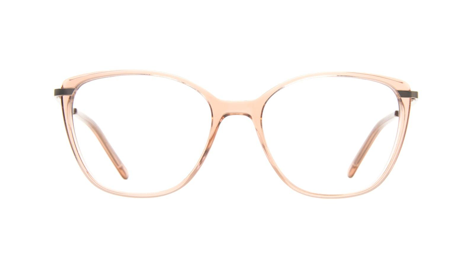 000509429a7 Affordable Fashion Glasses Cat Eye Rectangle Square Eyeglasses Women  Illusion Rose
