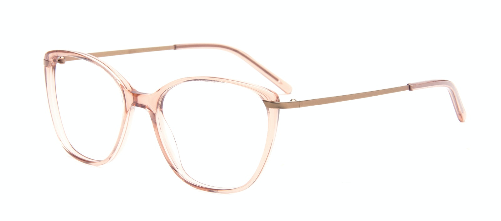 Affordable Fashion Glasses Rectangle Square Eyeglasses Women Illusion M Rose Tilt