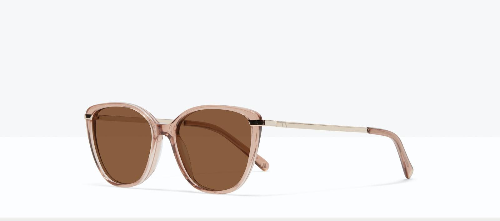 Affordable Fashion Glasses Rectangle Square Sunglasses Women Illusion XS Rose Tilt