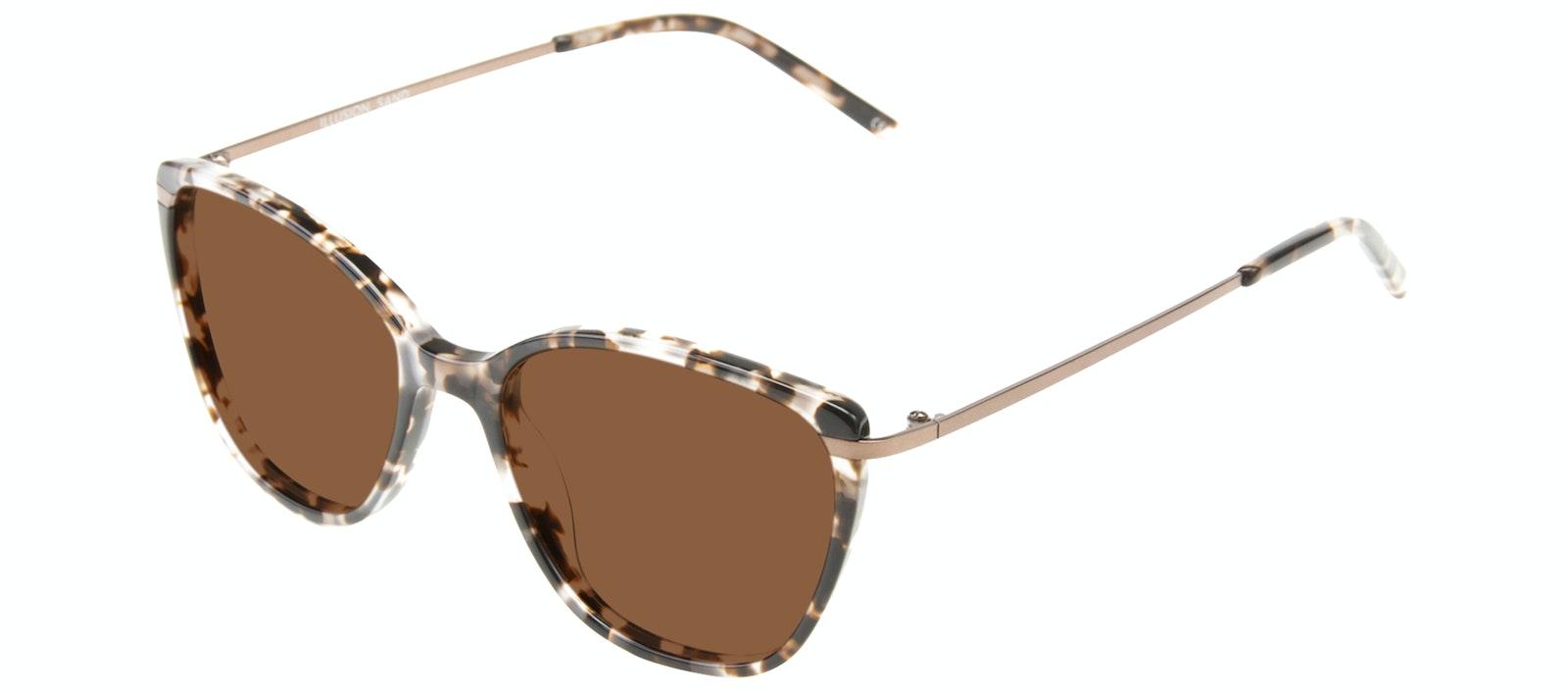 Affordable Fashion Glasses Rectangle Square Sunglasses Women Illusion Sand Tilt
