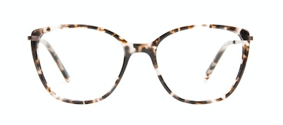 Affordable Fashion Glasses Rectangle Square Eyeglasses Women Illusion M Sand Front