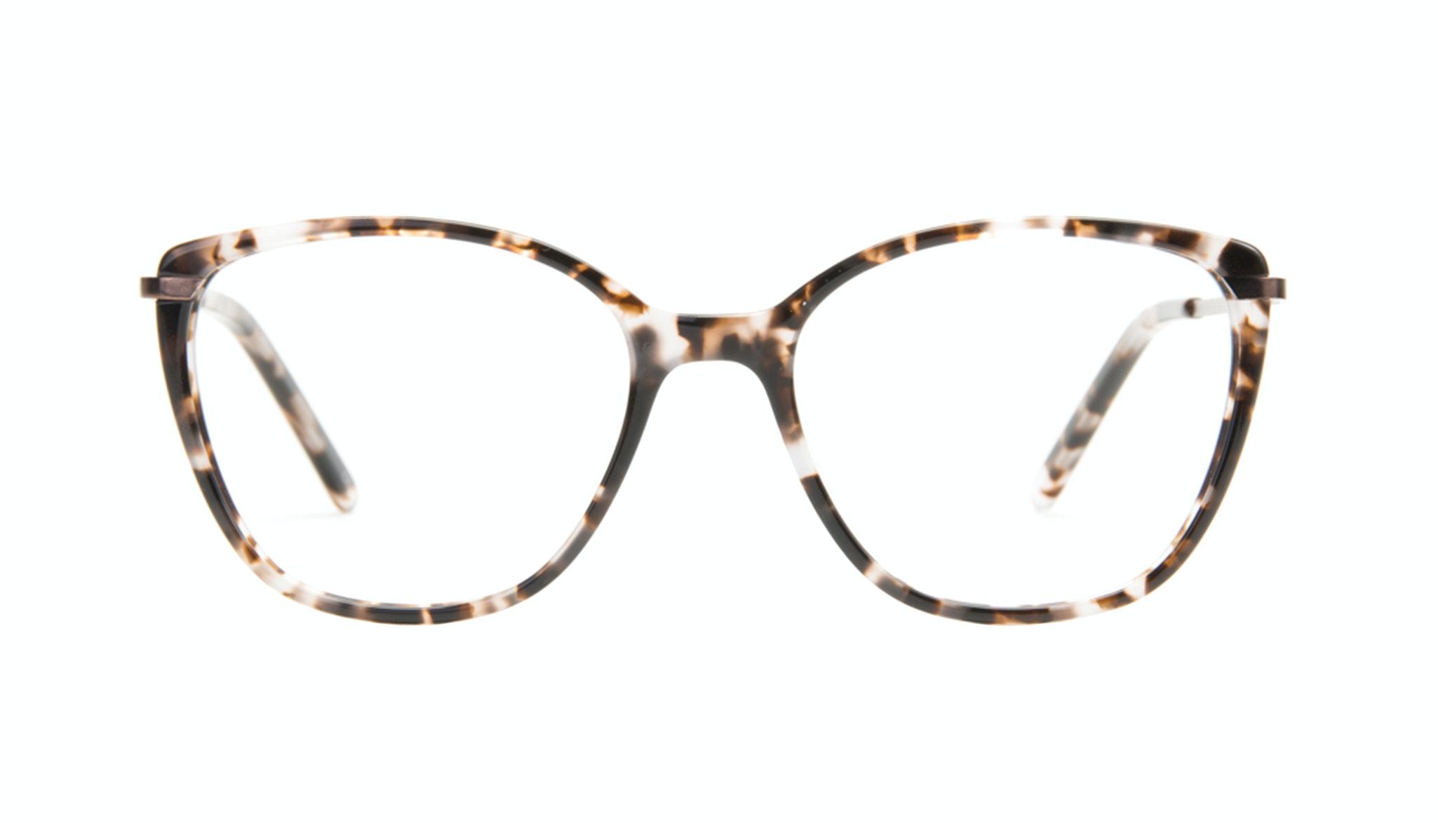 Affordable Fashion Glasses Cat Eye Rectangle Eyeglasses Women Illusion Sand Front