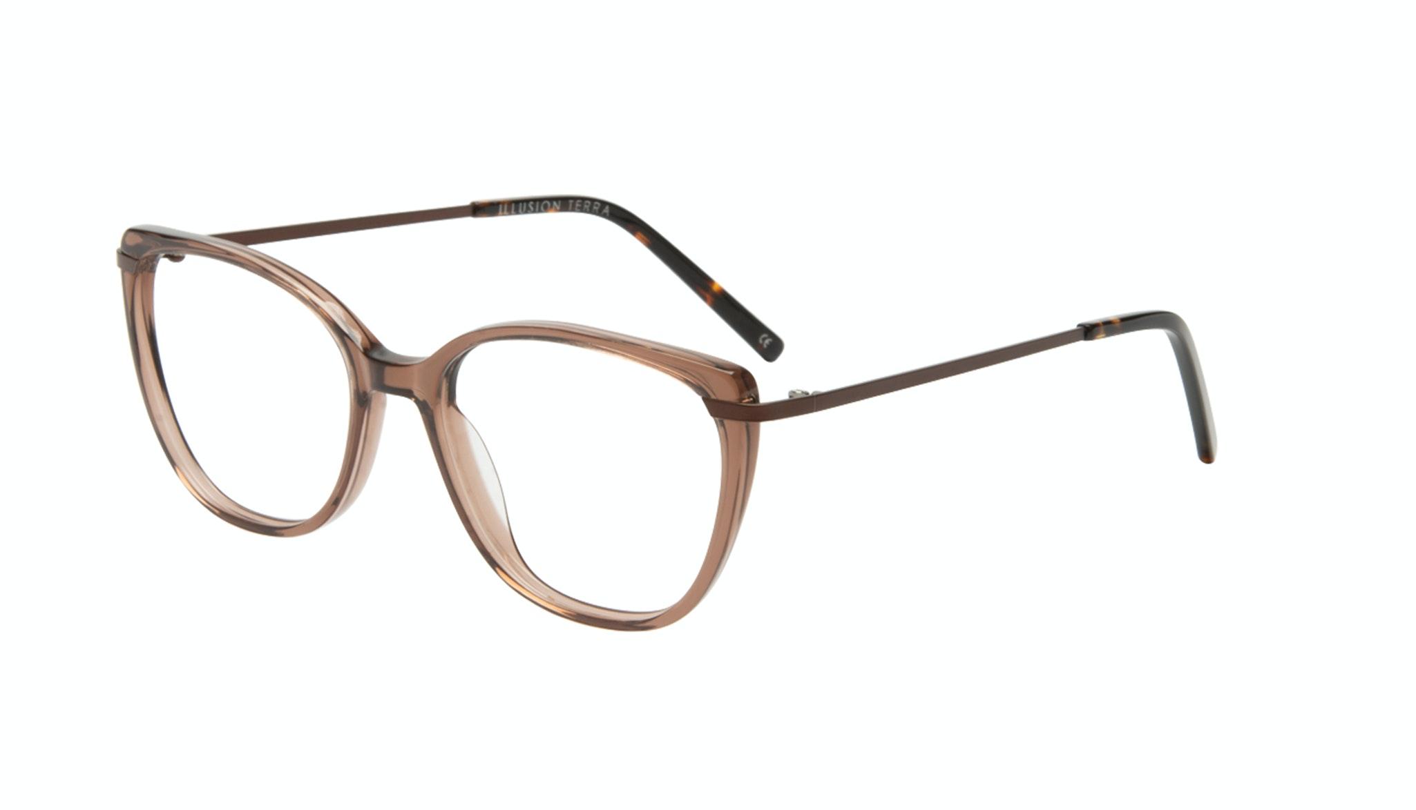 Affordable Fashion Glasses Cat Eye Rectangle Square Eyeglasses Women Illusion Terra Tilt