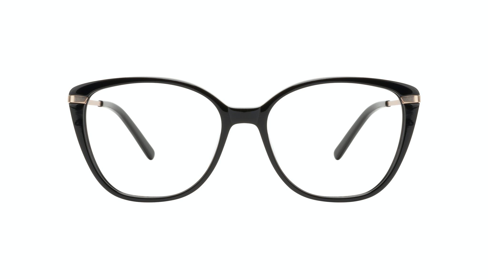 Lunettes tendance Oeil de chat Rectangle Carrée Lunettes de vue Femmes Illusion Onyx