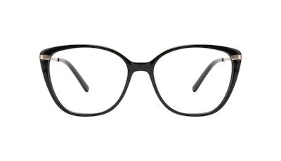 Lunettes tendance Rectangle Carrée Lunettes de vue Femmes Illusion Onyx Face