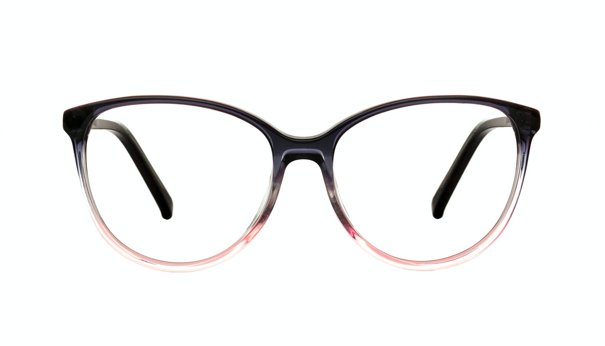 Lunettes tendance Oeil de chat Ronde Lunettes de vue Femmes Imagine Pink Dust Face