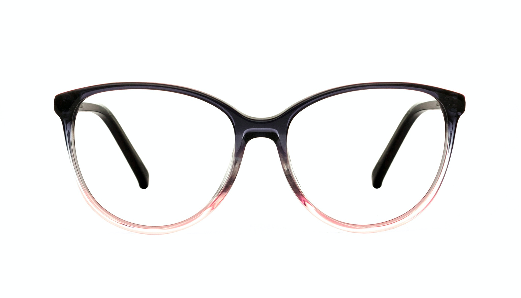 Affordable Fashion Glasses Cat Eye Round Eyeglasses Women Imagine Pink Dust Front