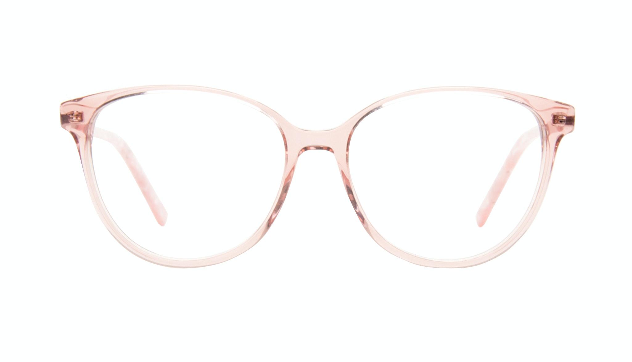 Lunettes tendance Ronde Lunettes de vue Femmes Imagine II Rose Marble Face