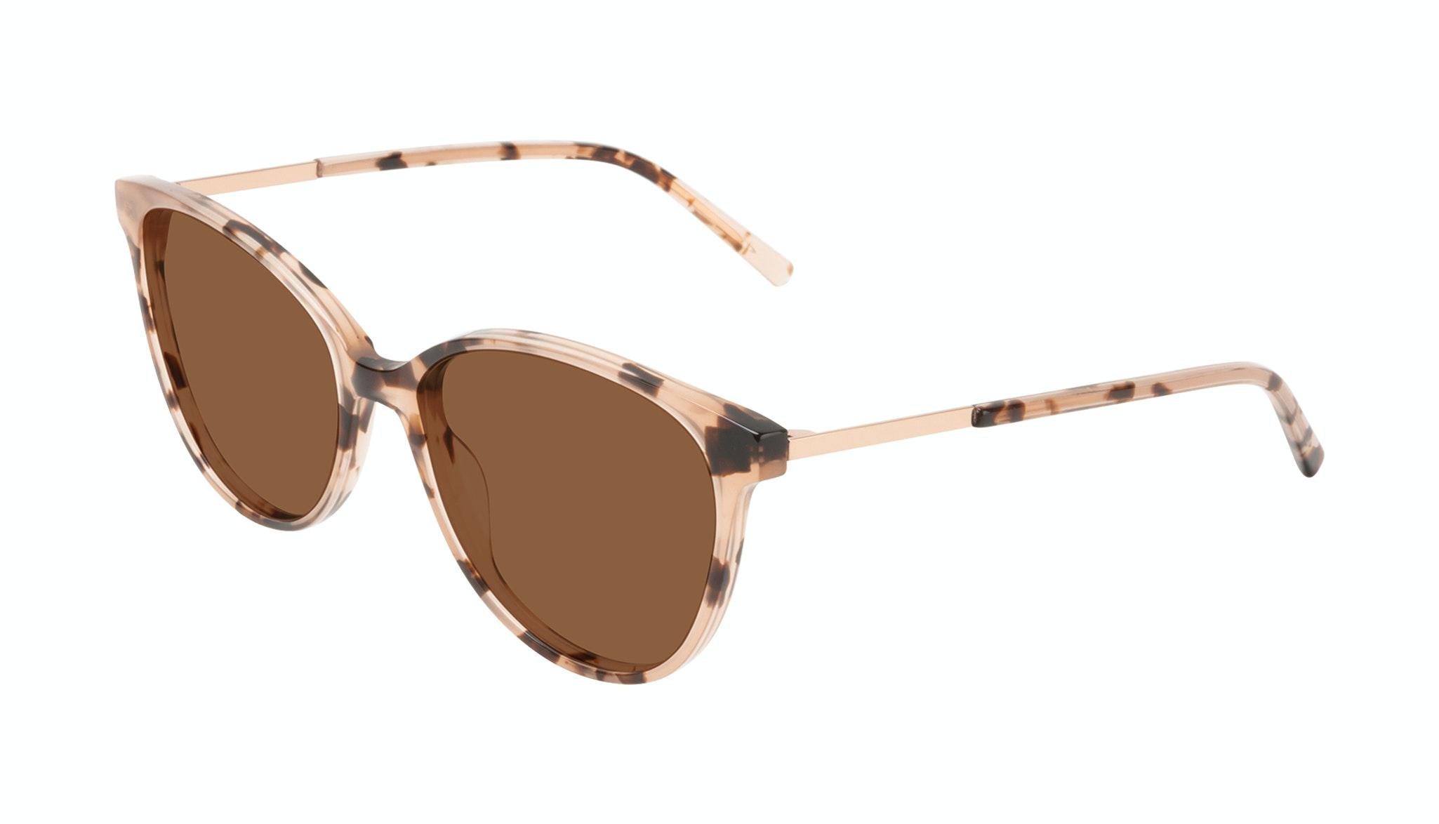 Affordable Fashion Glasses Round Sunglasses Women Imagine II Plus Tortie Tilt