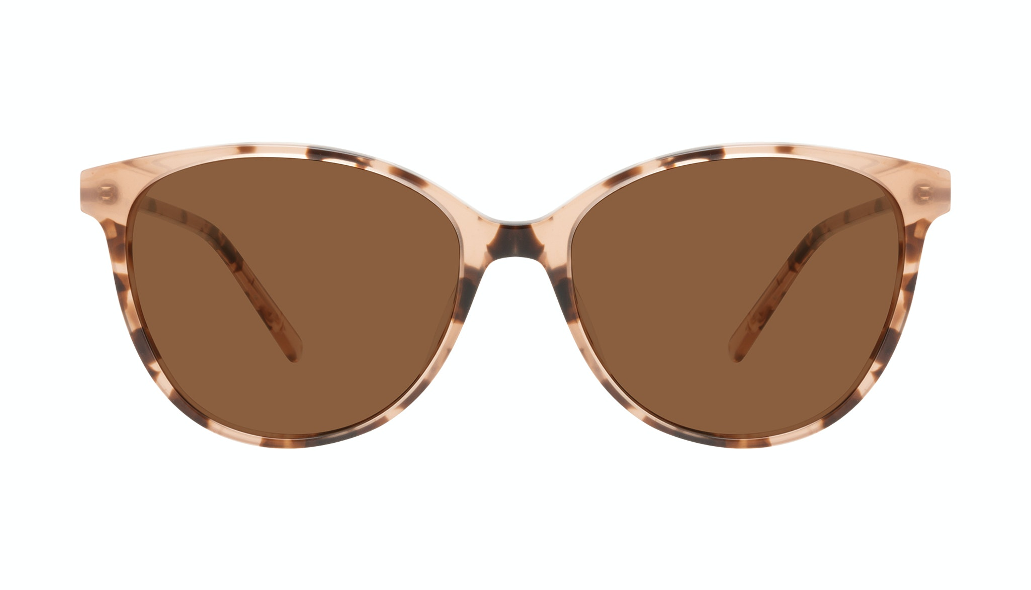 Affordable Fashion Glasses Round Sunglasses Women Imagine II Plus Tortie Front