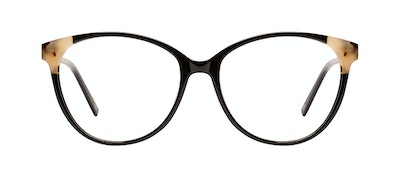 Affordable Fashion Glasses Cat Eye Eyeglasses Women Imagine II Plus Ebony Granite Front