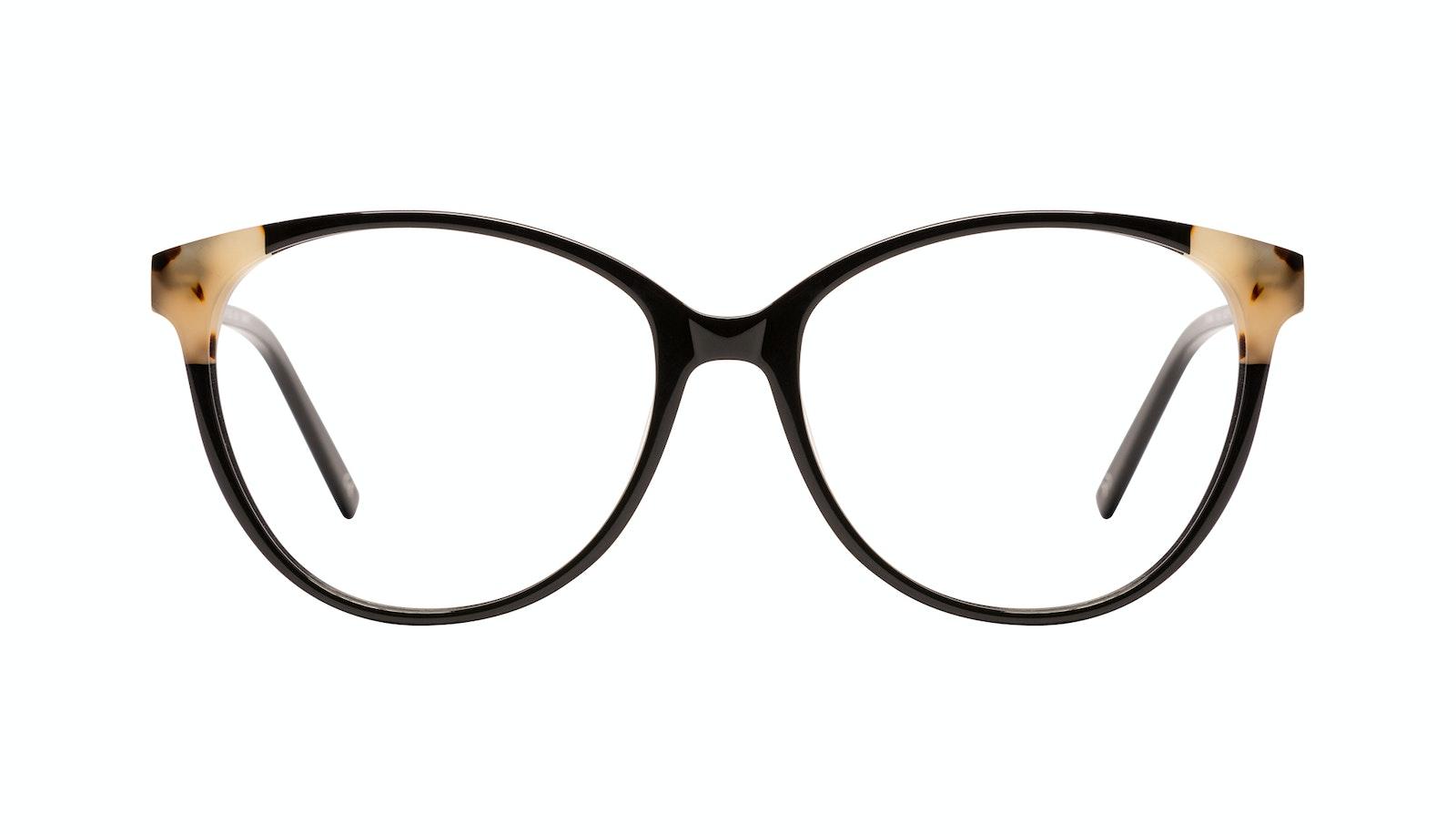 Affordable Fashion Glasses Round Eyeglasses Women Imagine II Plus Ebony Granite